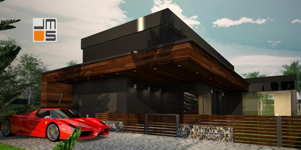 Dom jednorodzinny z dwustanowiskowym garażem