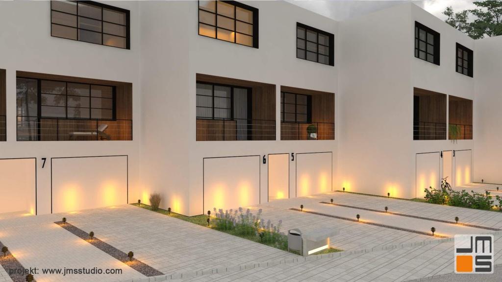 Detale są bardzo ważne dla nowoczesnego projektu elewacji budynku jednorodzinnego