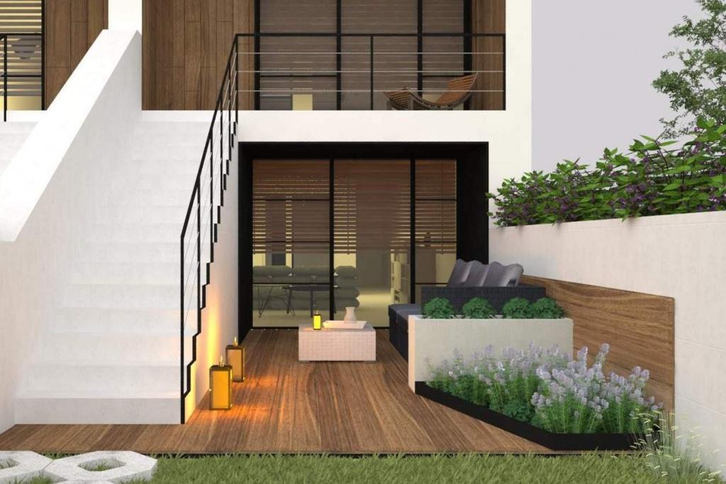 Projekt nowoczesnego designerskiego osiedla domów jednorodzinnych w zabudowie szeregowej Kraków- Bielsko