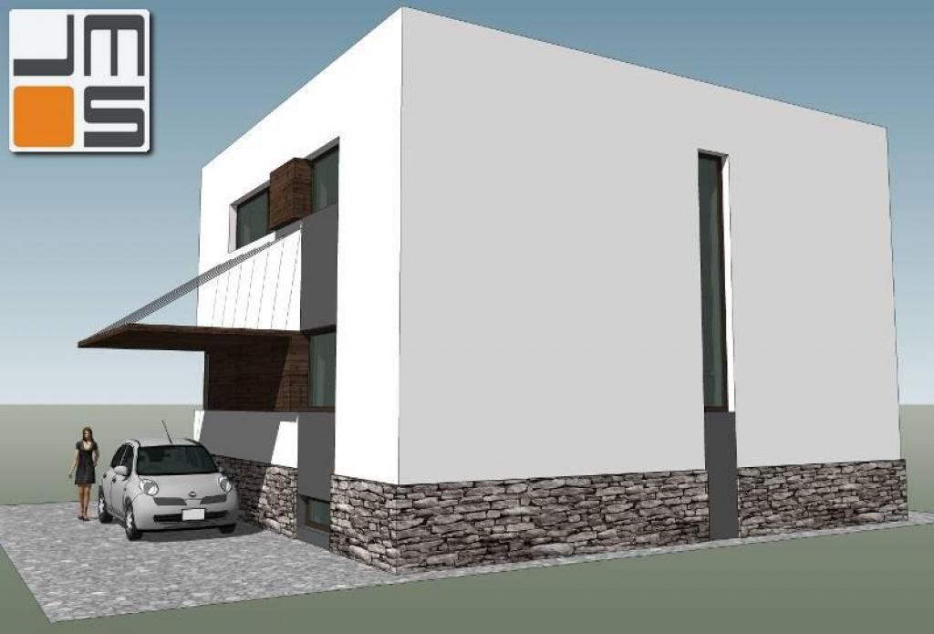 Modernizacja istniejącego domu typu kostka komunistyczna