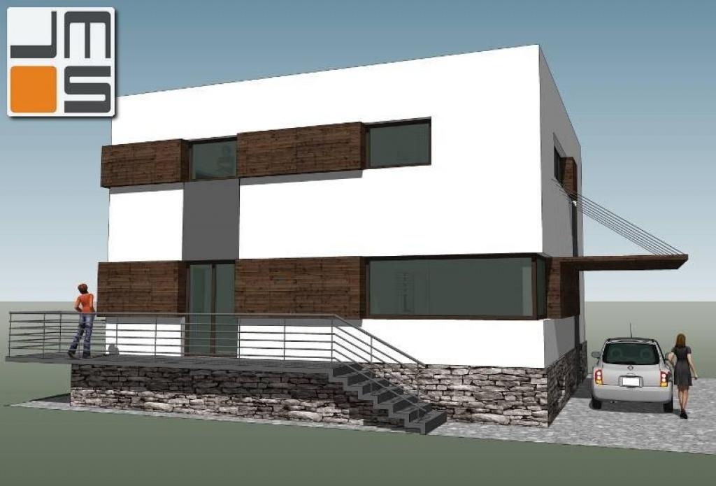 Adaptacja domu jednorodzinnego typu kostka.