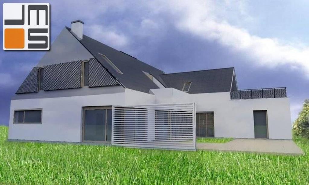 Indywidualny projekt domu jednorodzinnego z poddaszem użytkowym
