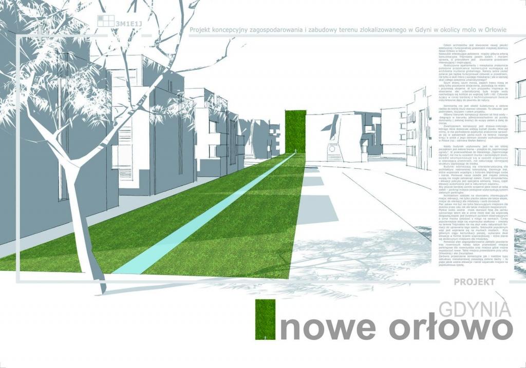 Projekt koncepcyjny zagospodarowania i zabudowy terenu w Gdyni