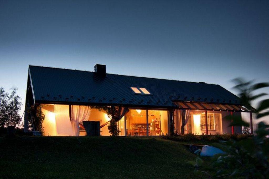 Architekta dom własny Prosty i nowoczesny dom