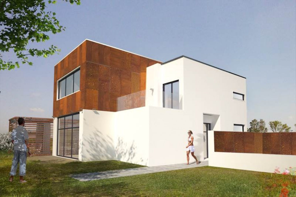 Nowoczesna architektura projekt nowoczesnego domu marzeń J16