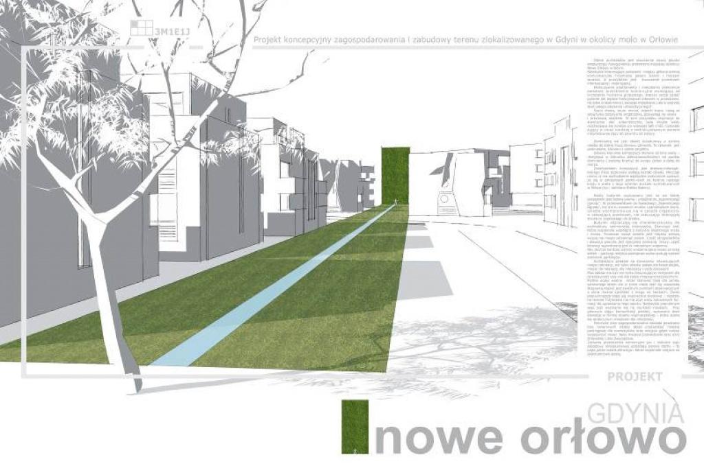 Konkurs architektoniczno - urbanistyczny Nowe Orłowo, Gdynia