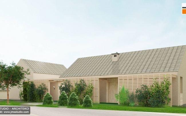 Architekt Katowice - projekt domu nowoczesna stodoła