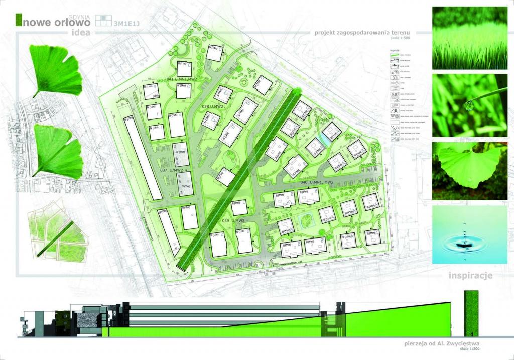 Projekt zagospodarowania terenu w okolicy molo w Orłowie, Gdynia