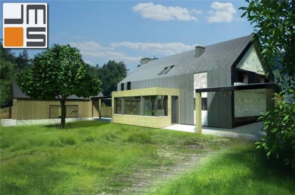Nowatorski dom na wsi - adaptacja istniejącego domu w zabudowie zagrodowej