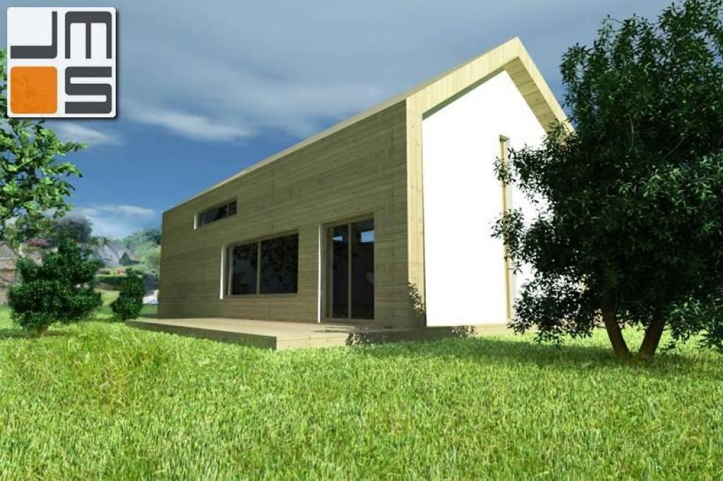 Nowoczesny dom energooszczędnym o cechach budynku pasywnego