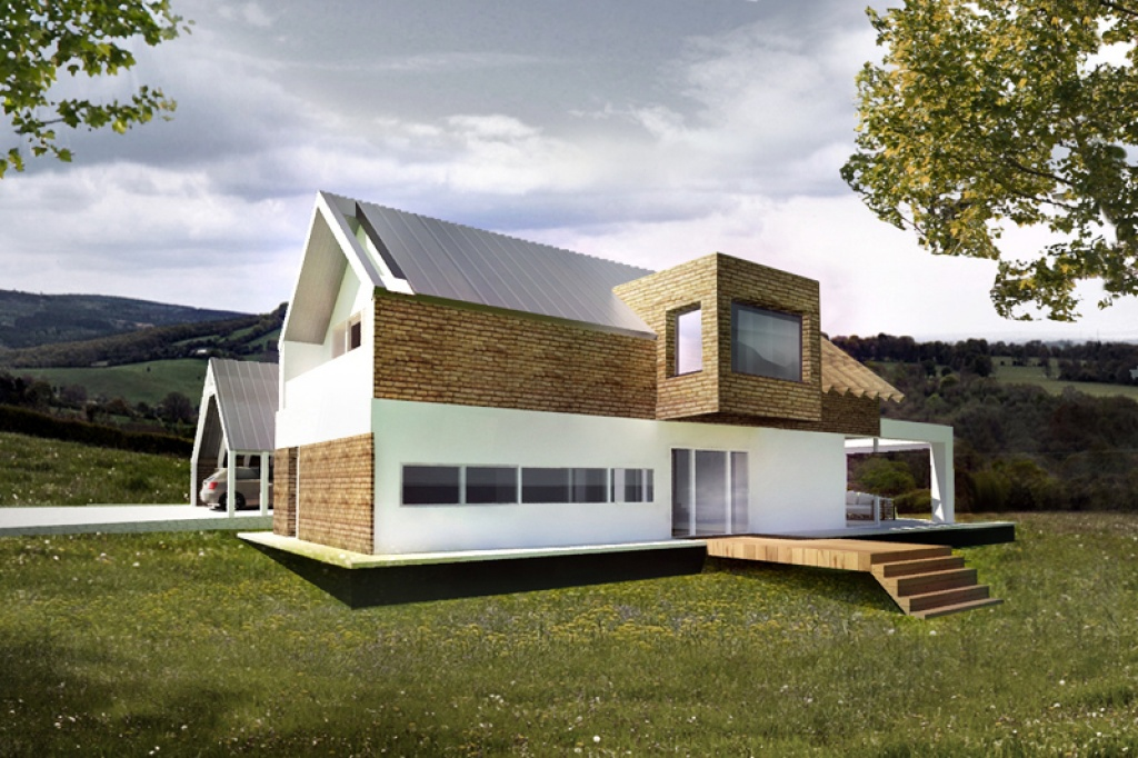 Pomysł na nowoczesny wykusz dachowy