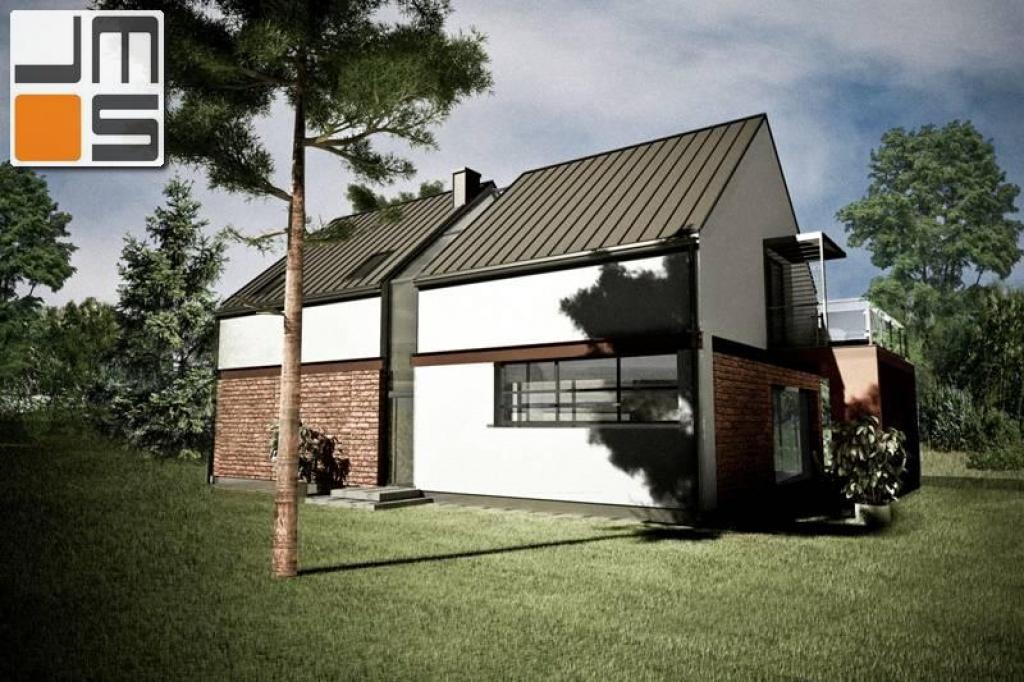 Projekt domu jednorodzinnego do zabudowy wolnostojącej lub bliźniaczej