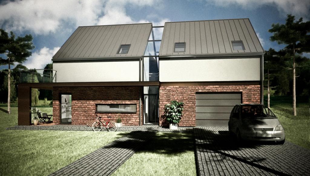 Projekt domu jednorodzinnego K4