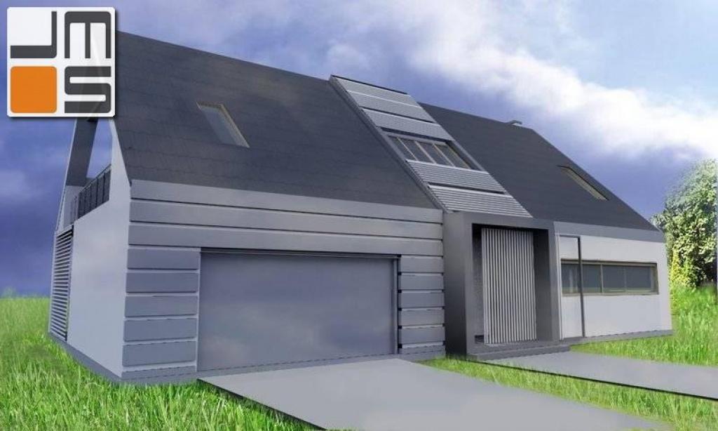 Projekt indywidualnego domu z garażem dwustanowiskowym