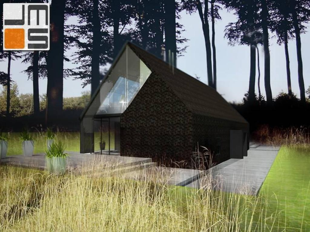 Projekt tradycyjnego domu na wsi Polskiej