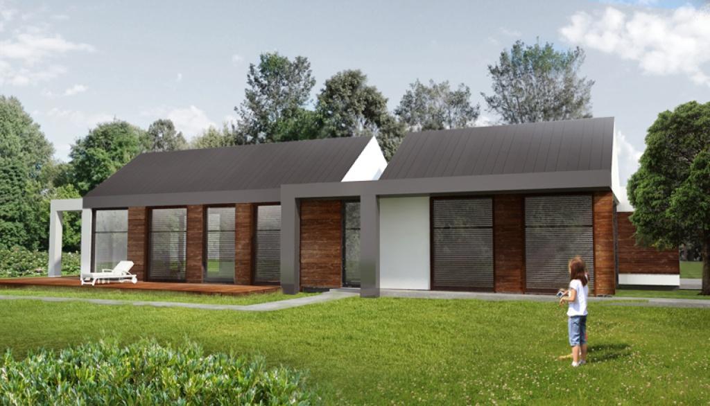 Żaluzje zewnętrzne projekt domu